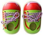 Ботиночки. Деревянная шнуровка для малышей