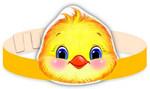 Цыпленок. Карнавальная маска-ободок