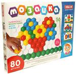 Сотовая мозаика. 80 элементов. 4 цвета