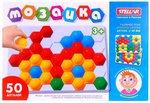 Мозаика для детей. 50 деталей четырех цветов