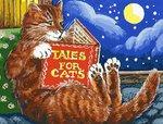 Сказки про котов. Раскраска по номерам. Холст 30х40 см