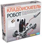 Управляемый робот-кладоискатель. Научный набор KidzLabs 4M