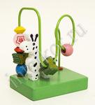 Лабиринт-серпантинка Жираф. Развивающая игрушка для детей от 1 года