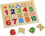 Рамки-вкладыши для детей Цифры