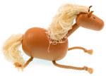 Пальчиковая игрушка для детей Лошадка