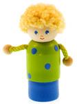 Пальчиковая игрушка деревянная Мальчик