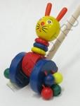 Каталка на палочке для малыша Зайчик