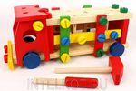 Конструктор деревянный Машина