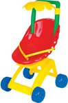 Детская коляска для кукол Ромашка