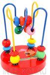 Лабиринт малый. Развивающая детская игрушка из дерева