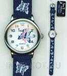 Синие бабочки. Наручные часы для детей