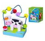 Развивающая игрушка мини – лабиринт «Корова»