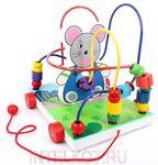 Лабиринт-каталка Мышка