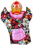 Перчаточная кукла Курочка Ряба. Кукольный домашний театр «Сказка за сказкой»