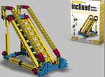 Конструктор научно-технический ENGINO. Наклонные плоскости и клинья (7 моделей, 104 детали)