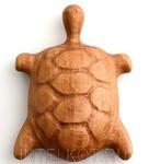 Черепашка Соня. Деревянная погремушка для малышей