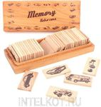 Игра для развития памяти. Мемори. Ретроавтомобили