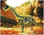Сборная модель из дерева. Брахиозавр