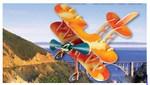 Аэроплан. Сборная модель из дерева