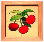 Фрукты-Ягоды. Разрезные картинки из дерева